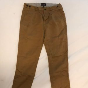 Madewell trousers in mustard - size 6